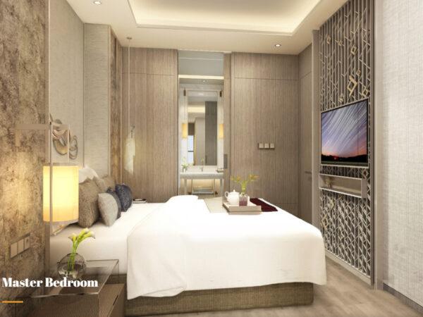 Apartemen Mewah pertama di Makassar, 31 Sudirman Suites. Tipe 2 +1 Bedroom
