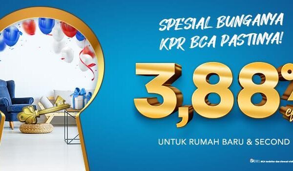 Wow Bulan Agustus 5 Bank Terlibat Perang Suku Bunga KPR Super Rendah